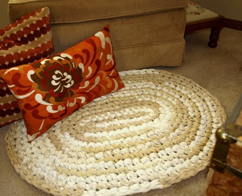 Linen & Lace Rag Rug Kit