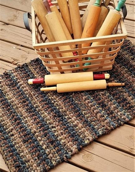 Rag Rug Weaving Supplies - Crocheted Rag Rug Kits | Rags to Rugs by Lora