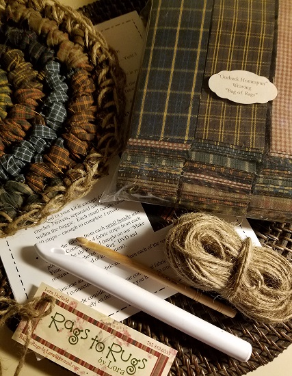 OUTBACK HOMESPUN Trivet Kit!