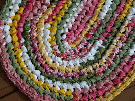 Spring Variegated Rag Rug Kit