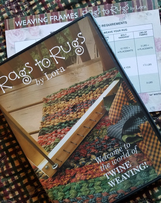 WEAVING & CROCHET DVD'S!