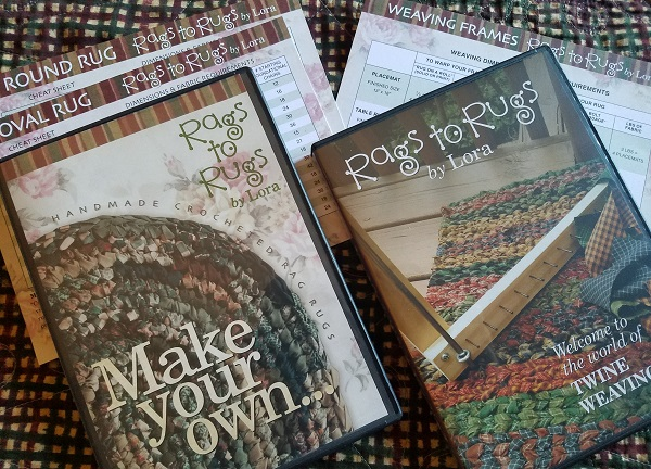 Make Your Own Crocheted Rag Rug DVD
