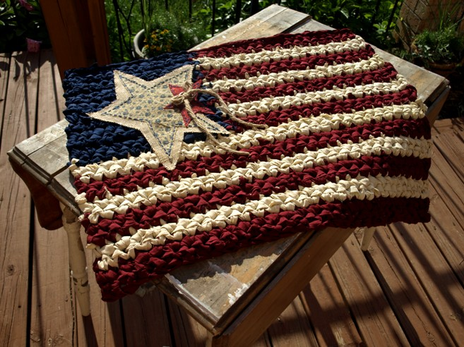 Americana Flag Custom (Fabric)
