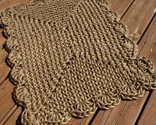 JUTE Rugs and JUTE Rug Kits!